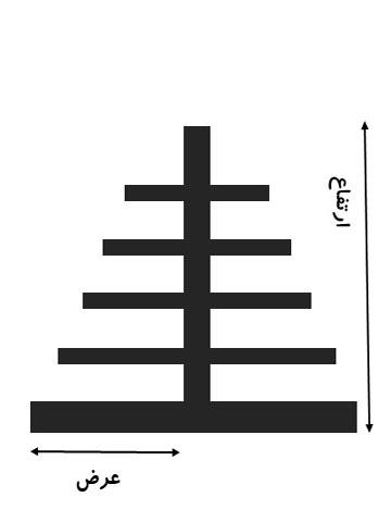 پایه دوبل ۲/۴۵ متری