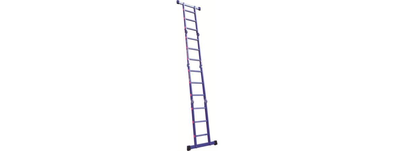 نردبان ۲۴ پله ۴ تکه راد استار