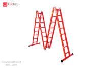 نردبان ۳۲ پله ۴ تکه آسانکار