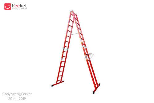 نردبان ۲۸ پله ۴ تکه آسانکار