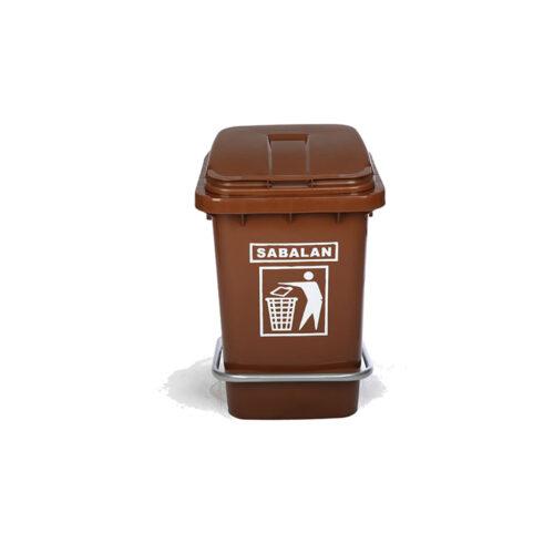 مخزن زباله ۶۰ لیتری پدالی