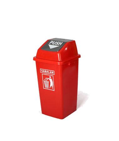 مخزن زباله ۷۰ لیتری دمپری