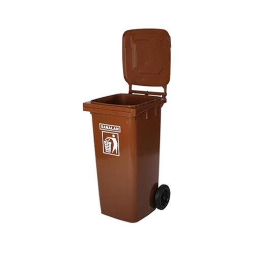 مخزن زباله ۲۴۰ لیتری ساده