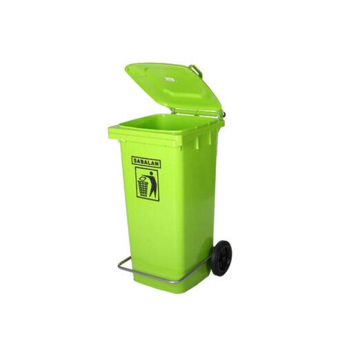 مخزن زباله ۲۴۰ لیتری پدالی