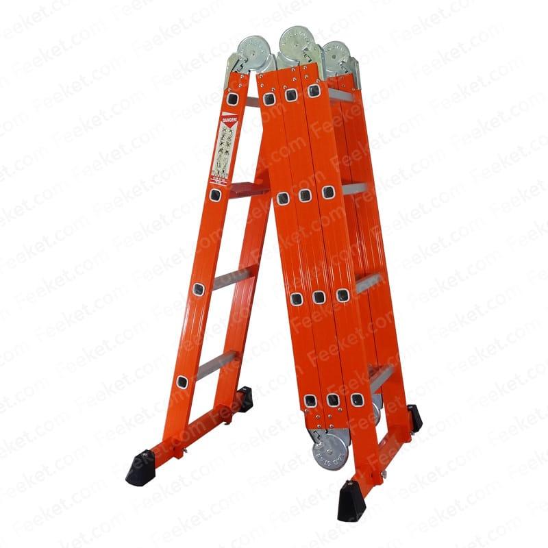 نردبان ۱۶ پله ۴ تکه راد استار