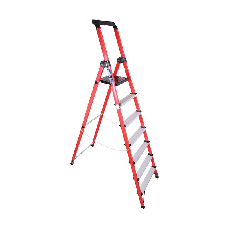 نردبان خانگی ۶ پله زرین