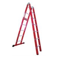 نردبان مفصلی ۲ تکه آلوم راد