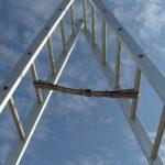 نردبان کشویی آلومحسینی