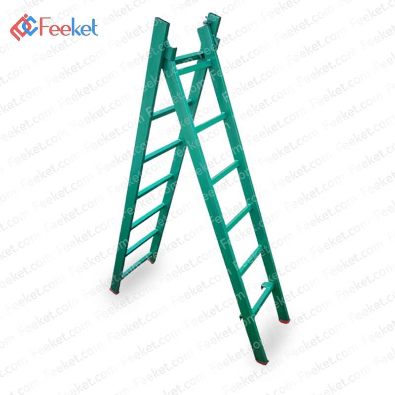 نردبان فلزی کشویی ۱۱ پله آلومحسینی