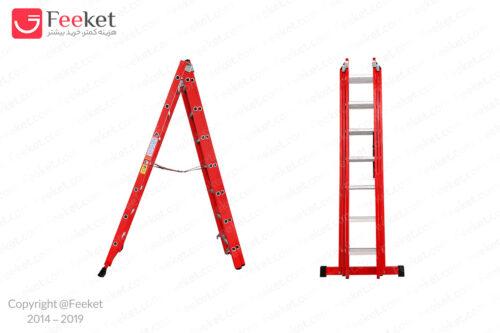 نردبان کشویی ۲۲ پله پرشین