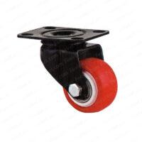 چرخ پایه مشکی کفی گردان